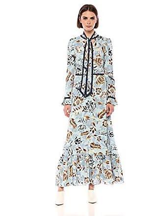 84d4a3168ff Bcbgmaxazria BCBGMax Azria Womens Floral Ruffled Maxi Dress