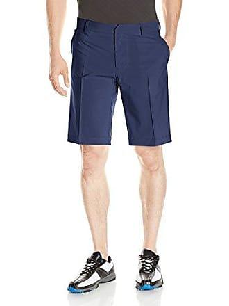 J.Lindeberg Mens True 2.0 Micro Stretch Shorts, Navy/Purple, 33