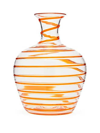 Yali Glass A Filo Large Glass Carafe - Orange