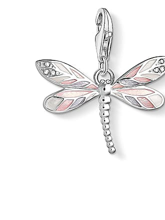 Thomas Sabo Thomas Sabo Charm pendant dragonfly pink 1516-041-9