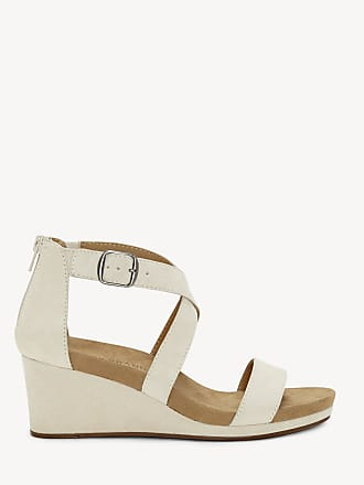 40f7c772cd6 Lucky Brand Womens Kenadee Criss Cross Wedges Sandshell Size 6 Suede From Sole  Society