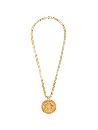 Versace Colar Medusa com pingente - Dourado