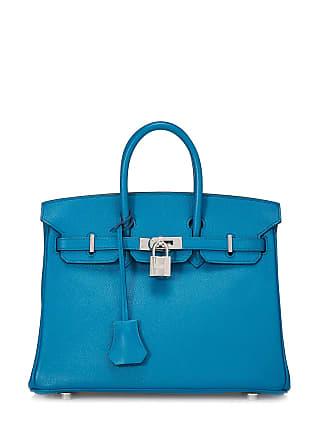 Hermès Birkin 25 Epsom Satchel Bag, Bleu Zanzibar