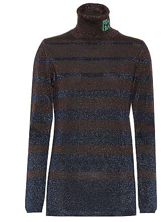 b50a630ae76 Prada Pull à col roulé en laine mélangée