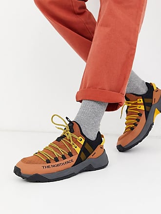The North Face Trail Escape Edge - Sneaker in Kamel/Schwarz-Braun