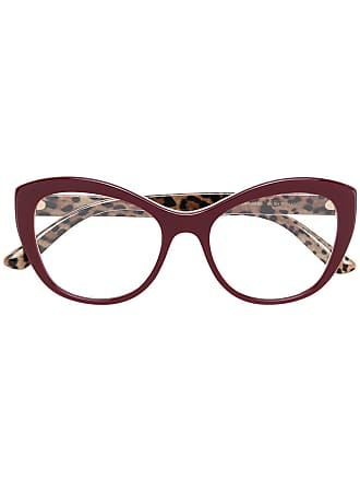 Dolce & Gabbana Eyewear cat eye glasses - Red