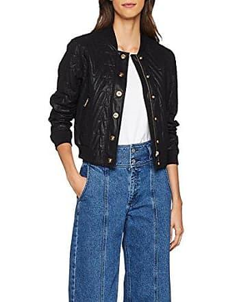 740a00f993e01 Versace Jeans Lady Jacket, Veste Bomber Femme, Noir (Nero E899), 38