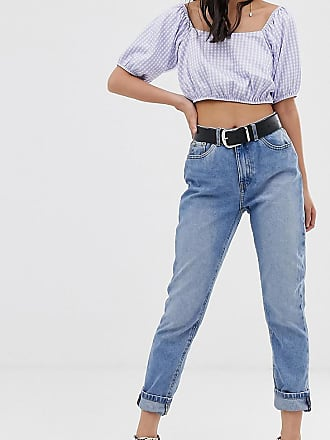Only Petite mom jean - Blue