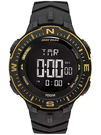 Mormaii Relógio Masculino Mormaii Action MONK005/8D Preto