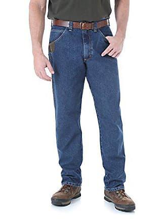 Wrangler Mens Big and Tall Riggs Workwear Big & Tall Cool Vantage Five Pocket Jean, Dark Stone, 62x34