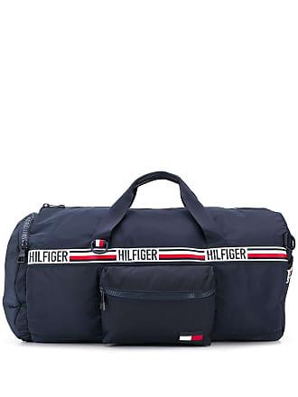 b02ba82e8ef Tommy Hilfiger logo stripe holdall - Blue