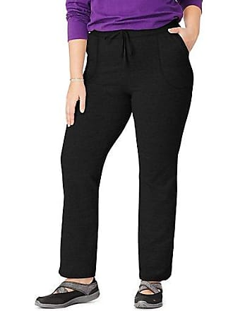 Just My Size French Terry Womens Pants Charcoal Heather 1X