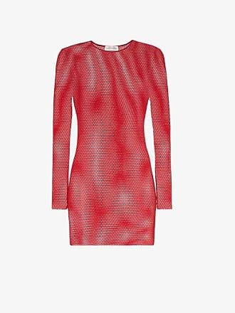 Faith Connexion long-sleeved mesh T-shirt