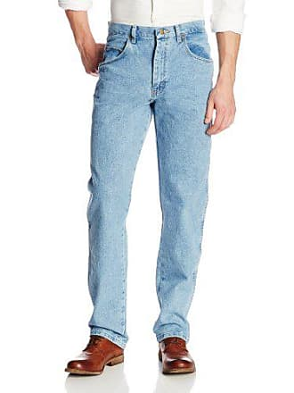 Wrangler Mens Big Rugged Wear Relaxed Fit Jean,Vintage Indigo,46x30