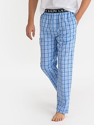 8f15ace1854f46 Ralph Lauren Karierte Pyjamahose, reine Baumwolle - BLAU - POLO RALPH LAUREN