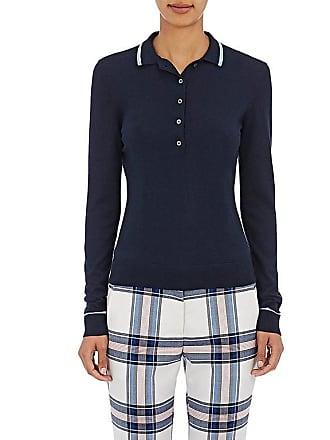 cf1ede8da07 Tory Sport Womens Cashmere-Blend Polo Sweater - Tory Navy Size M