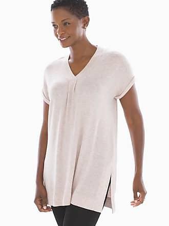 eedcedb2fa8 Soma Brushed Knit Short Sleeve Tunic Heather Blossom, Size XXL