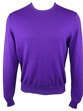 Ralph Lauren Size M Purple Wool Cashmere Blend Pullover Sweater 388fd994b