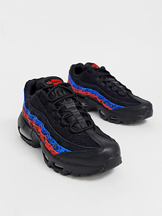 competitive price fa394 93e1b Nike Air Max 95 djurmönstrade sneakers - Black   habanero red