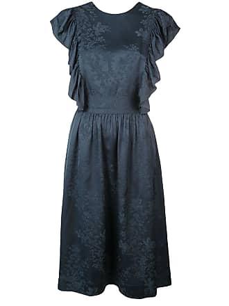 Rosie Assoulin Vestido floral - Azul