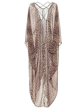 Jonathan Simkhai Leopard-print crêpe kaftan