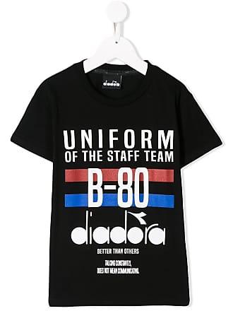 Diadora Camiseta Uniform - Preto