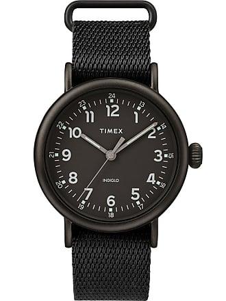 Timex Watch Mens Standard 40MM Fabric Strap Black Item Tw2T20800Vq