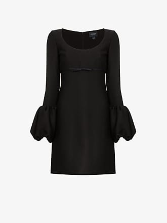 Giambattista Valli scoop neck silk mini dress