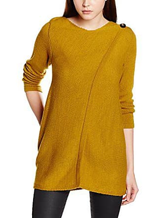 96135e55650809 Only 15118626, Cardigan Donna, Giallo (Harvest Gold Harvest Gold), Small
