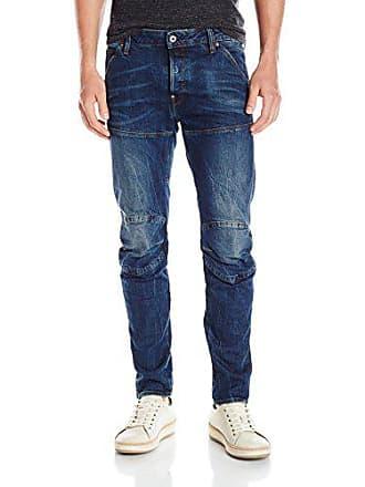 G-Star Mens 5620 3D Slim-Fit Jean, Vintage Dk Aged, 34x34