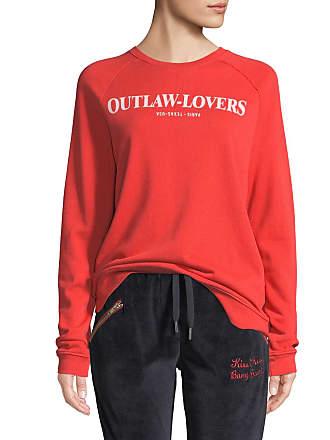 Zoe Karssen Outlaw-Lovers Graphic Pullover Sweatshirt