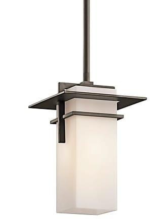 Kichler 49640 Caterham Indoor / Outdoor Pendant with Rectangular Glass