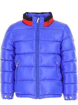 64e75521c6e3 Moncler Kinder Daunen Jacke für Jungen, Soft Shell Ski Jacken Günstig im  Sale, Blau