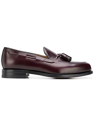 Berwich tassel detail loafers - Roxo