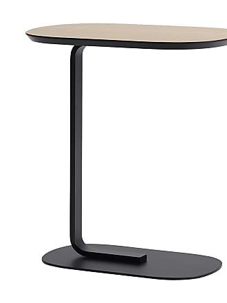 MUUTO Relate Beistelltisch - eiche, schwarz/LxBxH 56,2x34x60,5cm