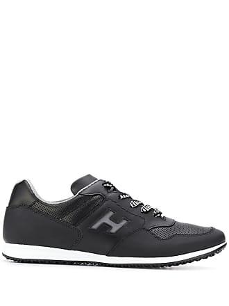 Hogan panelled sneakers - Black