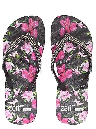 Zariff Chinelo Zariff Shoes Floral Pedras