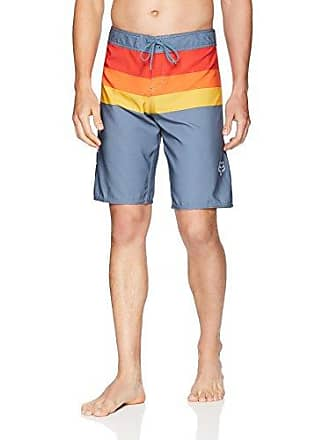 05616f3082 Fox Mens Standard Fit 21 4-Way Stretch Boardshort, Slate Blue2, 30
