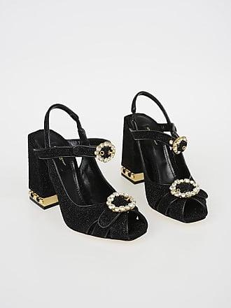 Dolce & Gabbana 11 cm Lurex BETTE Sandals size 35