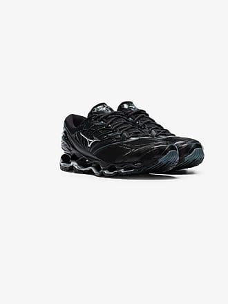 watch 729f7 cca01 Mizuno black Wave Prophecy 8 low-top sneakers