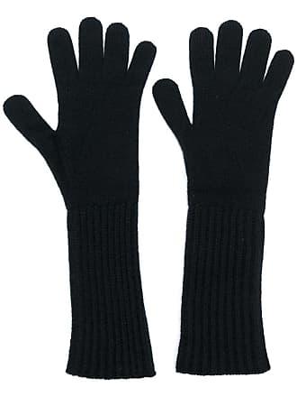 Pringle Of Scotland mid-length gloves - Preto