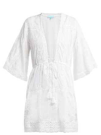 e30bfb448248 Melissa Odabash Jade Crochet Cotton Mini Dress - Womens - White