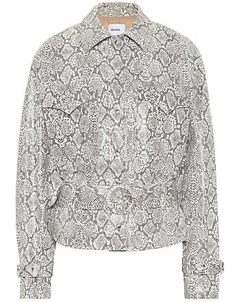 Nanushka Exclusive to Mytheresa - Iana faux snakeskin jacket