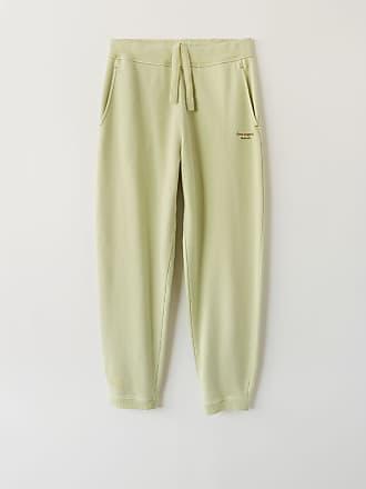 Acne Studios FN-MN-TROU000052 Pale green Cotton sweatpants