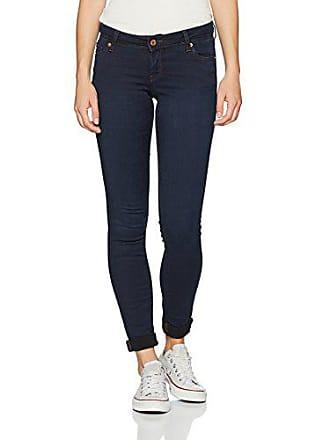53eacd537aea4 Vero Moda Vmfive LW Super Slim Jeans Am051, Bleu (Dark Blue Denim),
