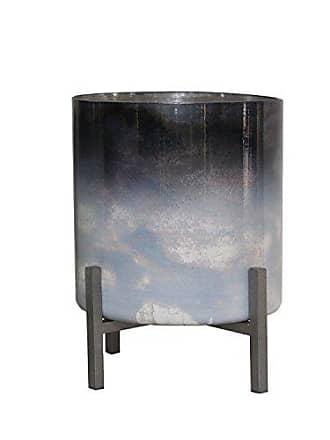 Sagebrook Home 13557-02 Metal/Glass Hurricane 7 X 7 X 9.25 Multi
