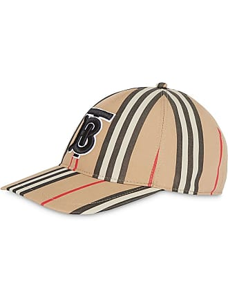 Burberry Icon stripe baseball cap - Neutrals