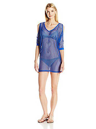 La Blanca Womens All Meshed Up Tunic Cover Up, Snap, XS