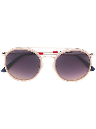 Orlebar Brown Óculos de sol em acetato - Metálico