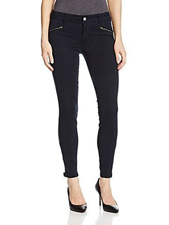Level 99 Womens Riley Skinny Moto Jean with Ankle Zippers, Ink, 27